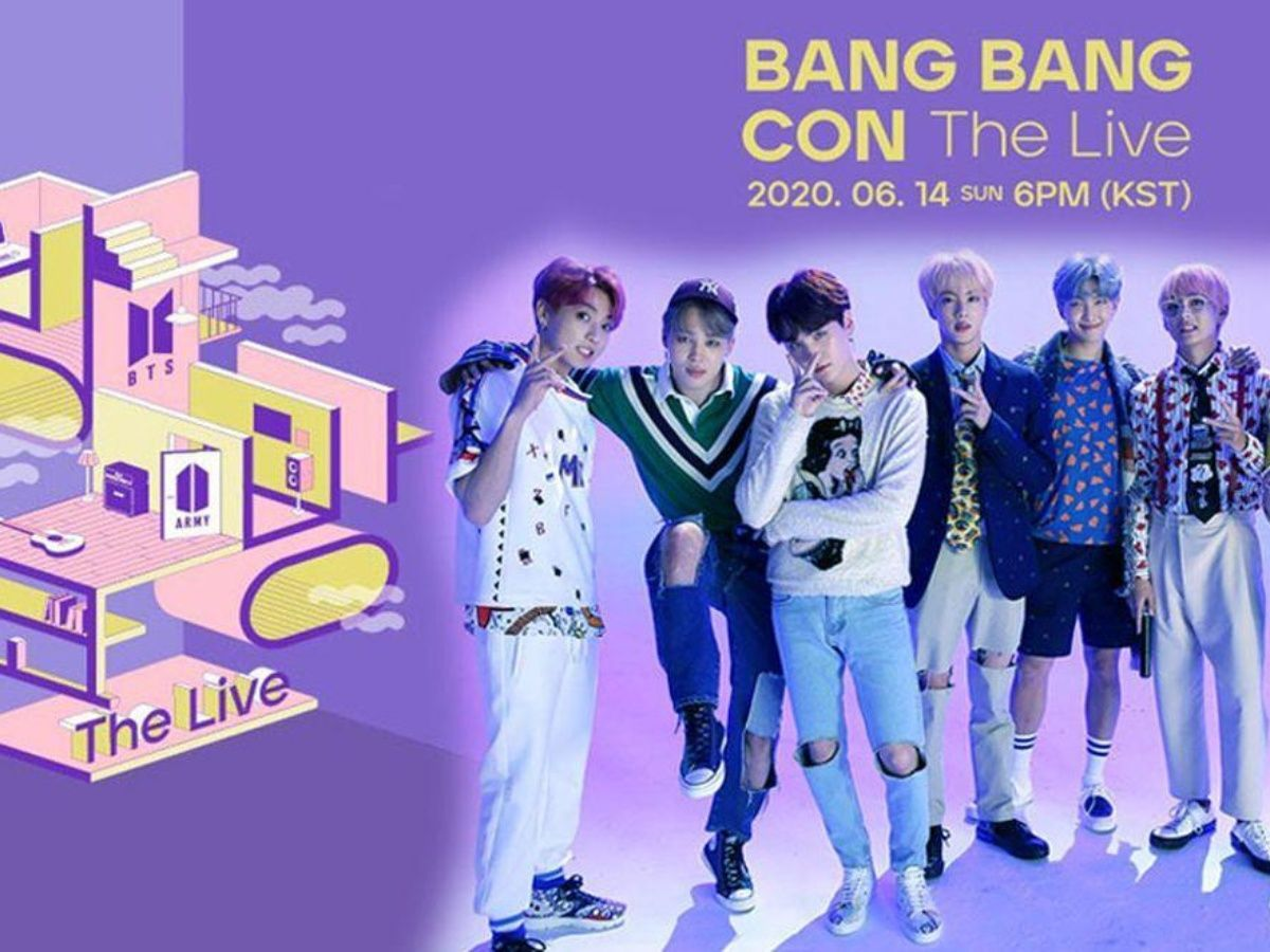 BTS-Bang Bang Con The Live